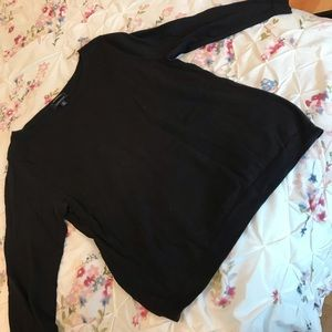 Relaxed Fit Cotton Sweater